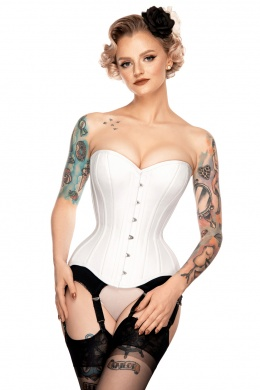 Corset overbust classic white
